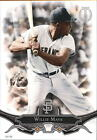 2016 Topps Tribute 5x7 #8 Willie Mays 49 - NM-MT