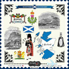 SCRAPBOOK CUSTOMS SCOTLAND SIGHTSEEING TRAVEL 12x12 CARDSTOCK SCRAPBOOK STICKERS