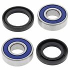 Kawasaki ZR-7S / ZR-7, 2000-2003, Front Wheel Bearings and Seals - ZR750