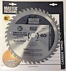 Master Mechanic 440875 8 1 4 x 40 Tooth Smooth Cut Combination Saw Blade
