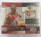 2003-04 Upper Deck Finite Basketball Factory Sealed Hobby Box