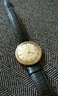 Vintage 60s MOVADO 14K Gold Filled Date Sub Sea Tempomatic Automatic Wrist Watch