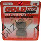 Brake Pads Goldfren Front Right Adly TB 50 Thunder Bike 2008-2010
