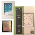 Snowscape metal die Poppystamps cutting dies 1863 Christmas Winter Frames