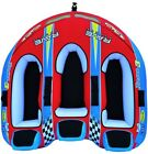 Boat Towable Tube 3 Person Rider Inflatable Ride On Chair Water Sport Acitvity