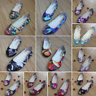 Womens Ballet Flats Shoes Comfort Ladies Slip On Boat Loafers Shoes Dolly Pumps