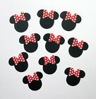 Minnie Mouse Heads with Bows Pkg of 10 Bazzill cardstock die cuts