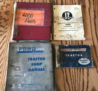 Manuals 4 Tractor Ford 6000 Operator Parts IT Technical Normal Wear For Age