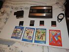 ORIGINAL INTELLIVISION CONSOLE WITH 8 GAMES & Intellivoice - Tested