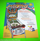 Williams LINE DRIVE 1972 Original NOS Pinball Baseball Pitch & Bat Machine Flyer