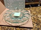 LONGABERGER RARE RETIRED MINT GLASS EGG PLATE-NEW In BOX