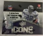 2008 Upper Deck Icons Factory Sealed Football Hobby Box