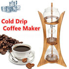 800mL Cold Brew Water Ice Drip Geter Coffee Maker Home Kitchen Glass For 5 Cup