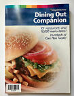 Weight Watchers Dining Out Companion Points Value  Core TurnAround Plan 2004
