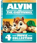 Alvin and the Chipmunks: 4-Movie Collection (Blu-ray Disc, 2017, 4-Disc Set)