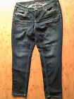 Womens SEVEN7 Skinny Stretch BLING JEANS Size 16