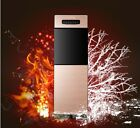 Gold Home Floor Standing 2 Doors Water Dispenser With Colding Heating System *