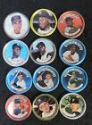 (12) 1964 TOPPS BASEBALL COINS LOT with STARS