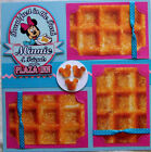 BREAKFAST IN THE PARK DISNEY DINING ONE 12X12 Premade Scrapbook Page