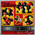 DISNEY VACATION ONE 12X12 Premade Scrapbook Page