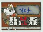 Frank Gore San Francisco 49ers 2014 Topps Triple Threads Patch Auto Card 04 18