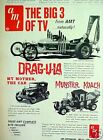 1966 Munster Koach~My Mother The Car AMT Model Kits~Barris Vintage Toy Promo AD