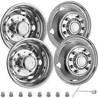 For FORD F450 F550 195 05 19 10 LUG Stainless Dually Wheel Simulators BOLT ON