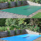 GLI ValueX Green or Blue Solid Swimming Pool Safety Winter Cover w Drain