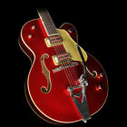 Used Gretsch Limited Edition G6120T-59CAR Nashville Bigsby Electric Guitar Red
