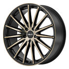 17 Helo HE894 Wheel Black 17x75 5x120 +40 HE89477552940