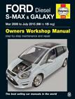 Haynes Workshop Manual Ford S-Max Ford Galaxy 2006-2015 Diesel Service Repair