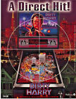 Williams DIRTY HARRY Original 1995 NOS Flipper Game Pinball Machine Promo Flyer