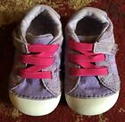 Stride Rite Baby Girls Lilac  Pink Shoes Sz 4