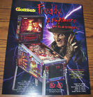 Gottlieb FREDDY A NIGHTMARE ON ELM STREET Original NOS Pinball Machine Flyer #2