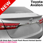 For 2013+ Toyota Avalon Painted Rear Trunk Spoiler CLASSIC SILVER METALLIC 1F7