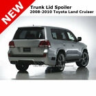 Toyota Land Cruiser 08 13 Trunk Roof Spoiler Painted CLASSIC SILVER METALLIC 1F7