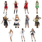 Women's Costumes Set, Priate/Pilot/Maid/Prisoner/Devil/Corpse Bride/Bee/Angel