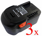 3x 2Ah 18Volt NEW Battery for AEG BSB 18G 18v Hammer Drill Driver BSB18G