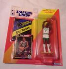 1992 Starting Lineup Figure SLU NBA Dee Brown Boston Celtics with Poster