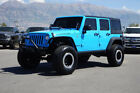 2017 Jeep Wrangler RUBICON JEEP RUBICON 4X4 4 DOOR HARDTOP UNLIMITED CUSTOM  LIFT WHEELS TIRES LEATHER NAV