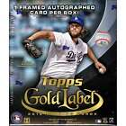 2016 Topps Gold Label Baseball MLB Factory Sealed Hobby Exclusive Box