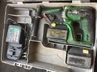 Hitachi DH24DV 24V SDS Plus Hammer Drill Rotary Breaker 2 Batteries + Charger