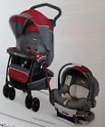 New! CHICCO Cortina CX Travel System Stroller & KeyFit 30 Infant Car Seat Lava