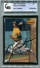 1994 Ted Williams Company ROLLIE FINGERS Signed Card GAI Slabbed Auto A's HOF