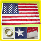 4x6 Ft American Flag USA US US Embroidered Stars Sewn Stripes Deluxe Nylon