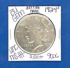 1924 S BU GEM PEACE SILVER DOLLAR COIN 9006 UNC MS+++ US MINTRARE