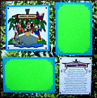 DISNEY JUNGLE CRUISE ONE 12X12 Premade Scrapbook Page