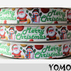 1/5/10yds 7/8'' 22mm Christams printed grosgrain ribbon Hairbow DIY Craft 001