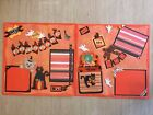 Tear Bear Scrapbook My First Halloween Pre Made Pages