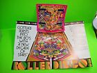 Gottlieb 1979 ROLLER DISCO Original Flipper Game Pinball Machine Promo Flyer